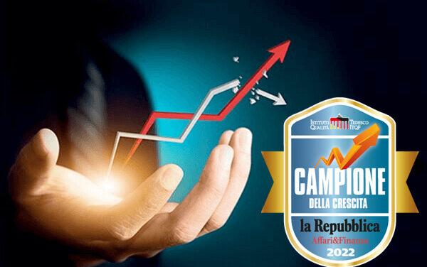 CONSECUTION GROUP CAMPIONE DELLA CRESCITA 2022